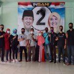 Aliansi Pemuda Rantau Batam menemui Calon Wakil Gubernur Kepri Suryani di Posko Insani.